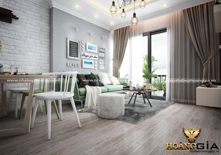 thiết kế nội thất nhà chung cư