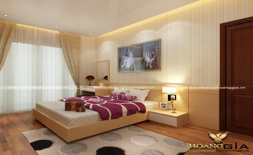 thiết kế phòng ngủ ngủ hiện đại