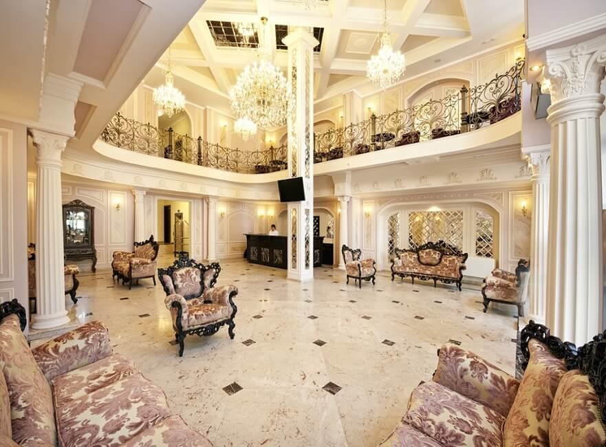 thiết kế khách sạn Châu Âu