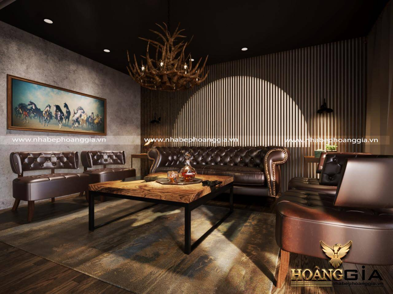 thiết kế nội thất nhà hàng cafe