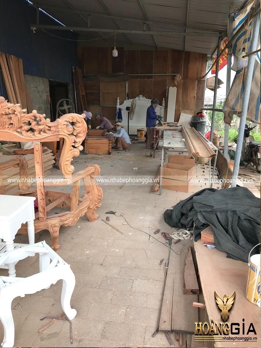 xưởng sản xuất nội thất cao cấp tại Hà Nội