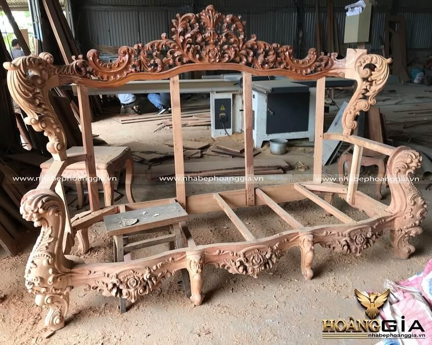 xưởng sản xuất nội thất cổ điển uy tín tại Hà Nội