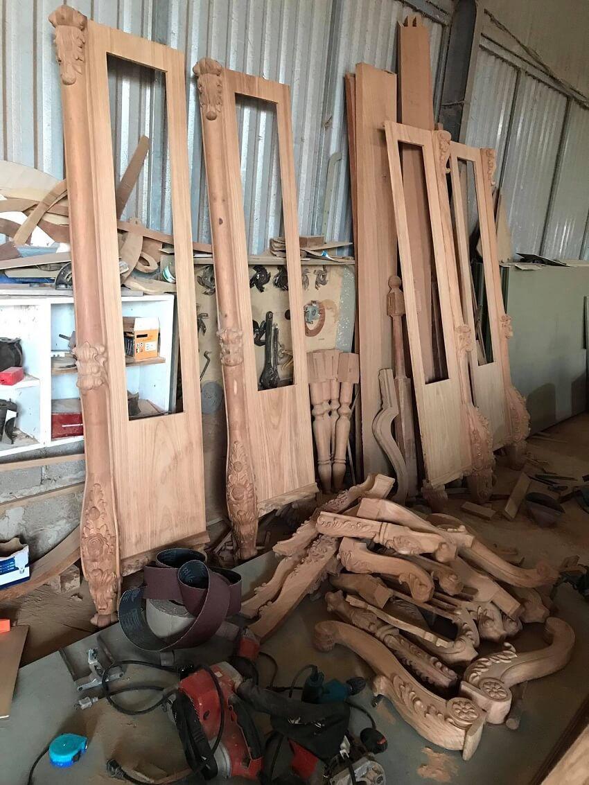 xưởng sản xuất nội thất gỗ tự nhiên