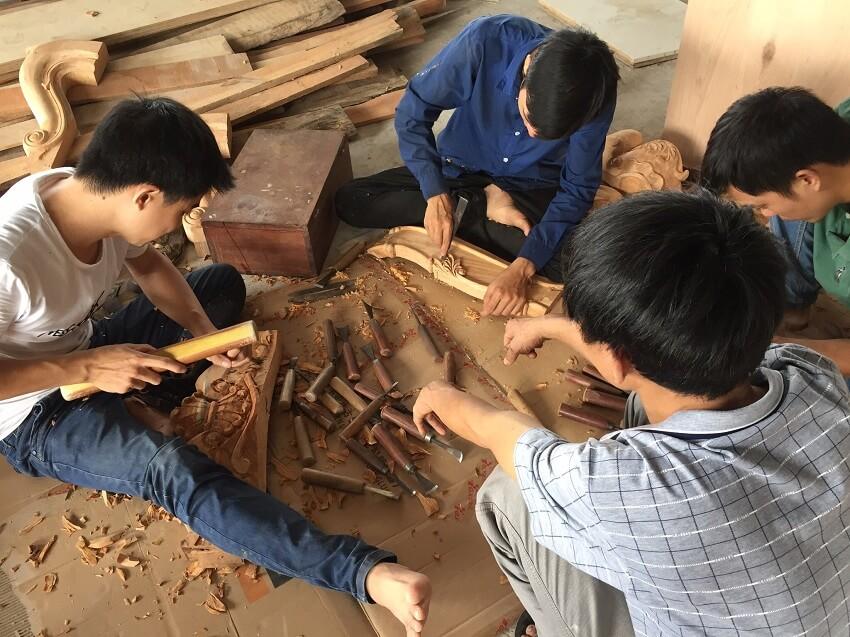 xưởng sản xuất nội thất theo yêu cầu tại Hà Nội