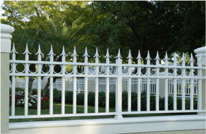 Hàng rào sắt hộp đẹp