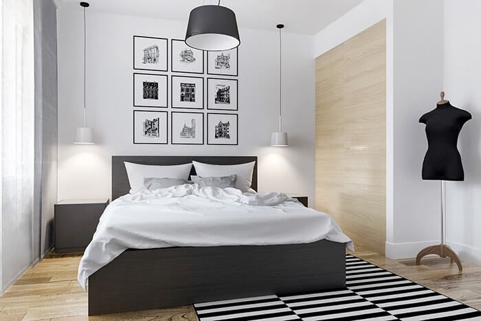 phòng ngủ nhỏ nên sơn màu gì