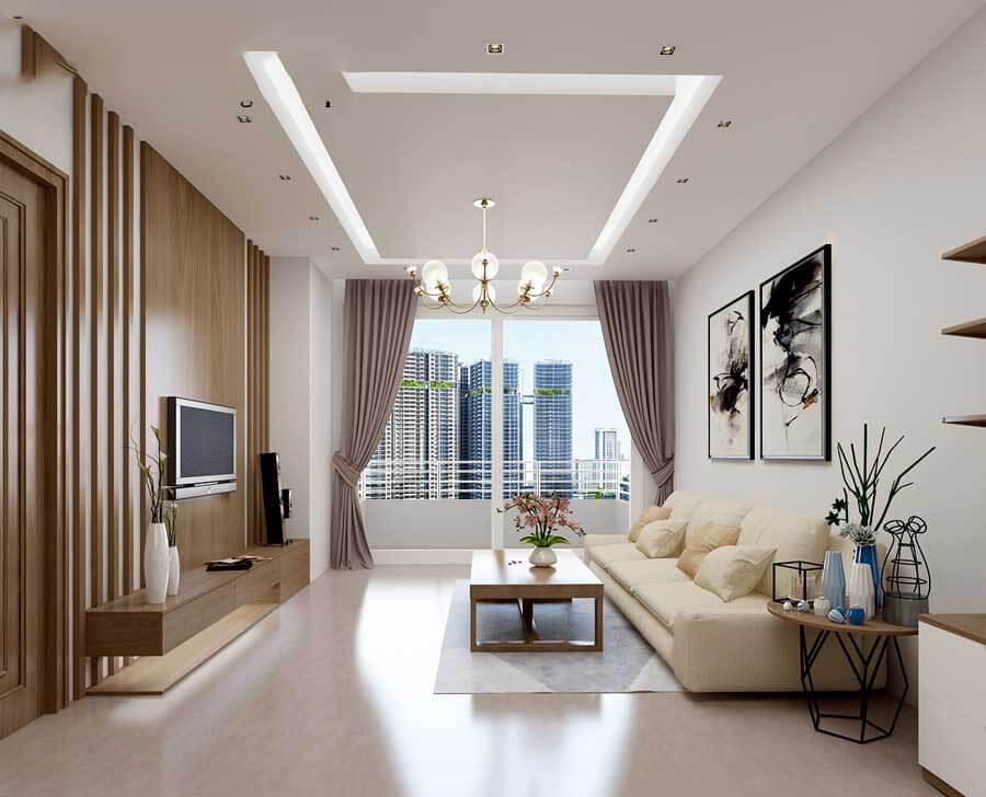 9 Mẫu thiết kế nội thất phòng khách nhỏ đẹp, đầy đủ tiện nghi - Nhà Bếp Hoàng Gia