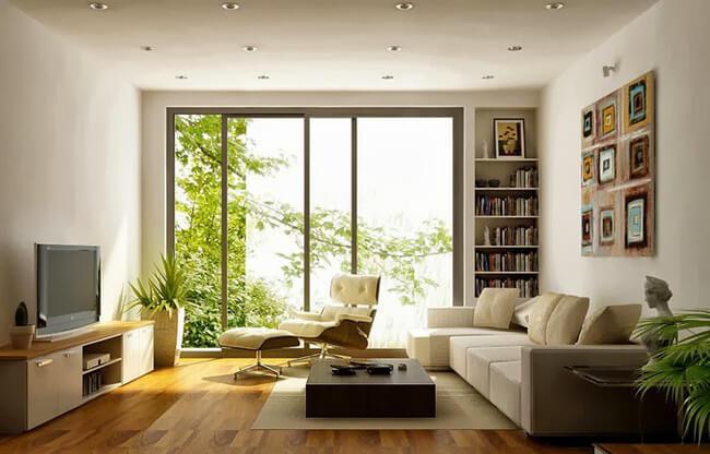 Hướng nhà chung cư theo ban công hay cửa chính