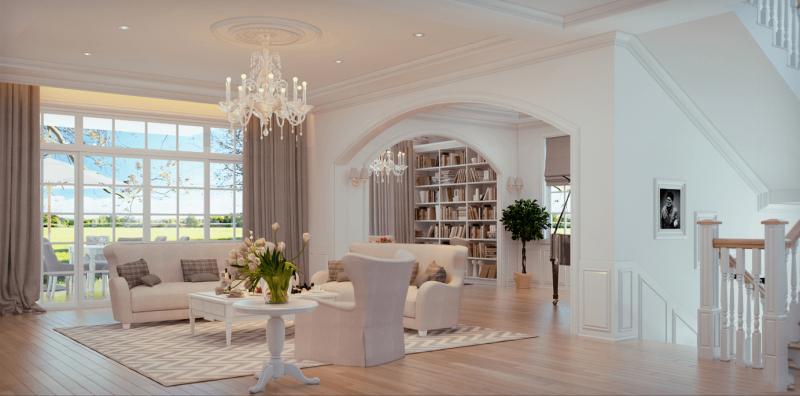 xu hướng thiết kế nhà trong năm 2021