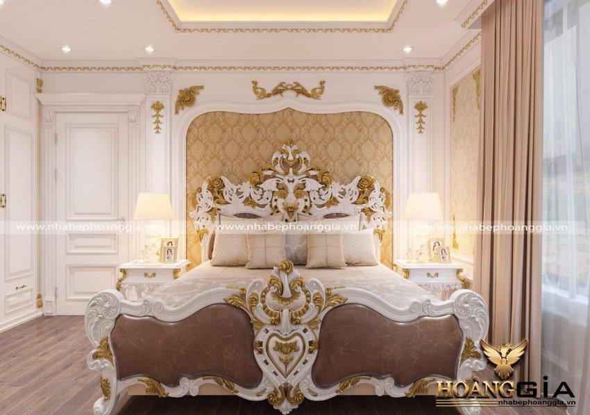 mẫu giường ngủ cổ điển Châu Âu
