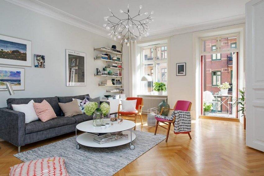 phong cách thiết kế nội thất phòng khách năm 2021