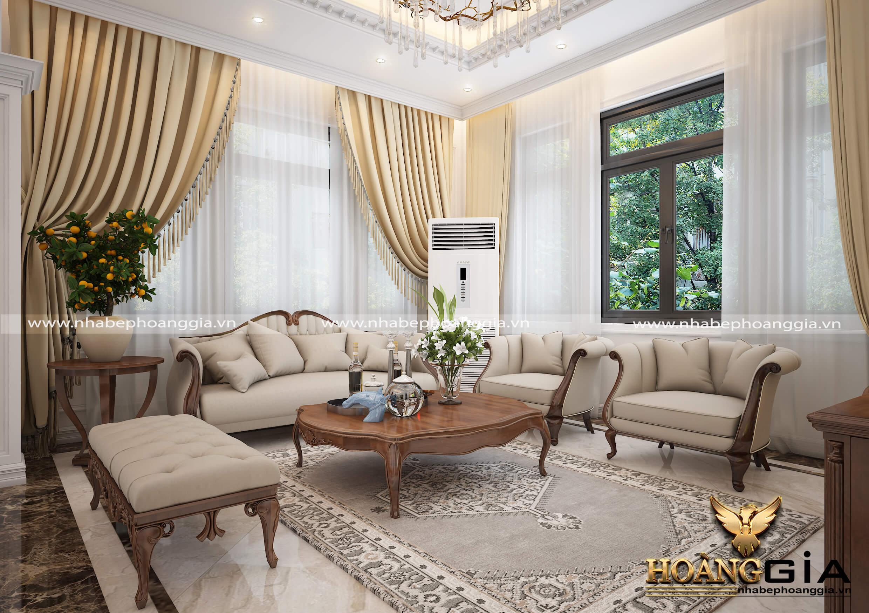bày trí nội thất phòng khách