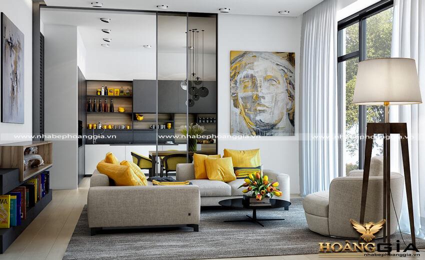 chọn sofa phòng khách đẹp