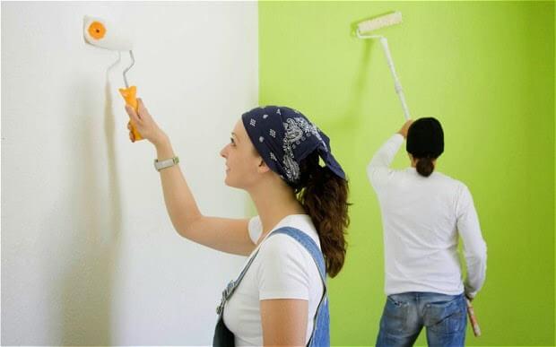 sơn nhà bao lâu thì ở được