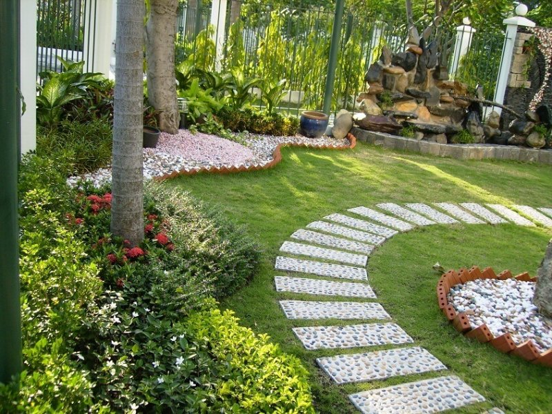 thiết kế sân vườn phong cách Nhật Bản