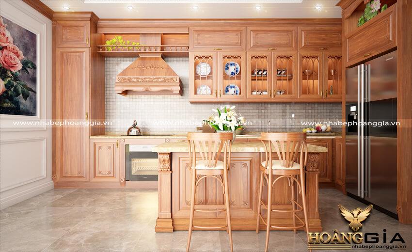 các mẫu tủ bếp đẹp cho nhà chung cư