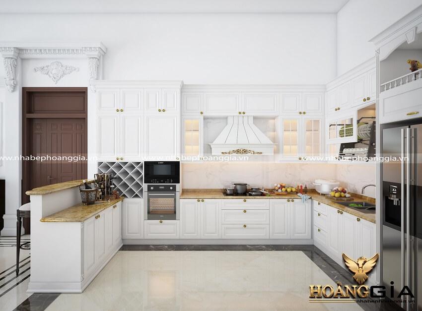 xu hướng thiết kế phòng bếp trong chung cư 2021