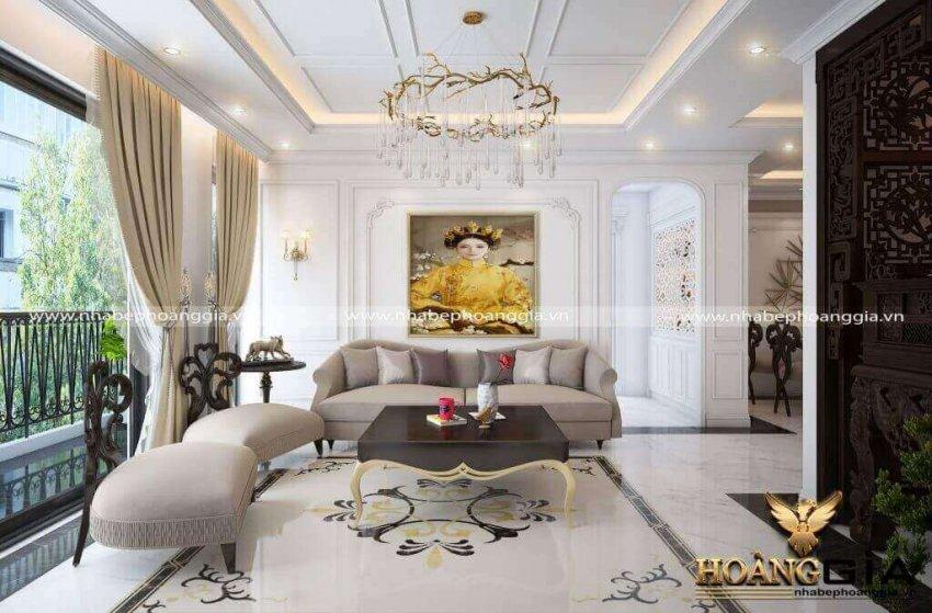 mẫu phòng khách chung cư 2021