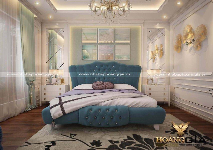 mẫu phòng ngủ chung cư đẹp 2021