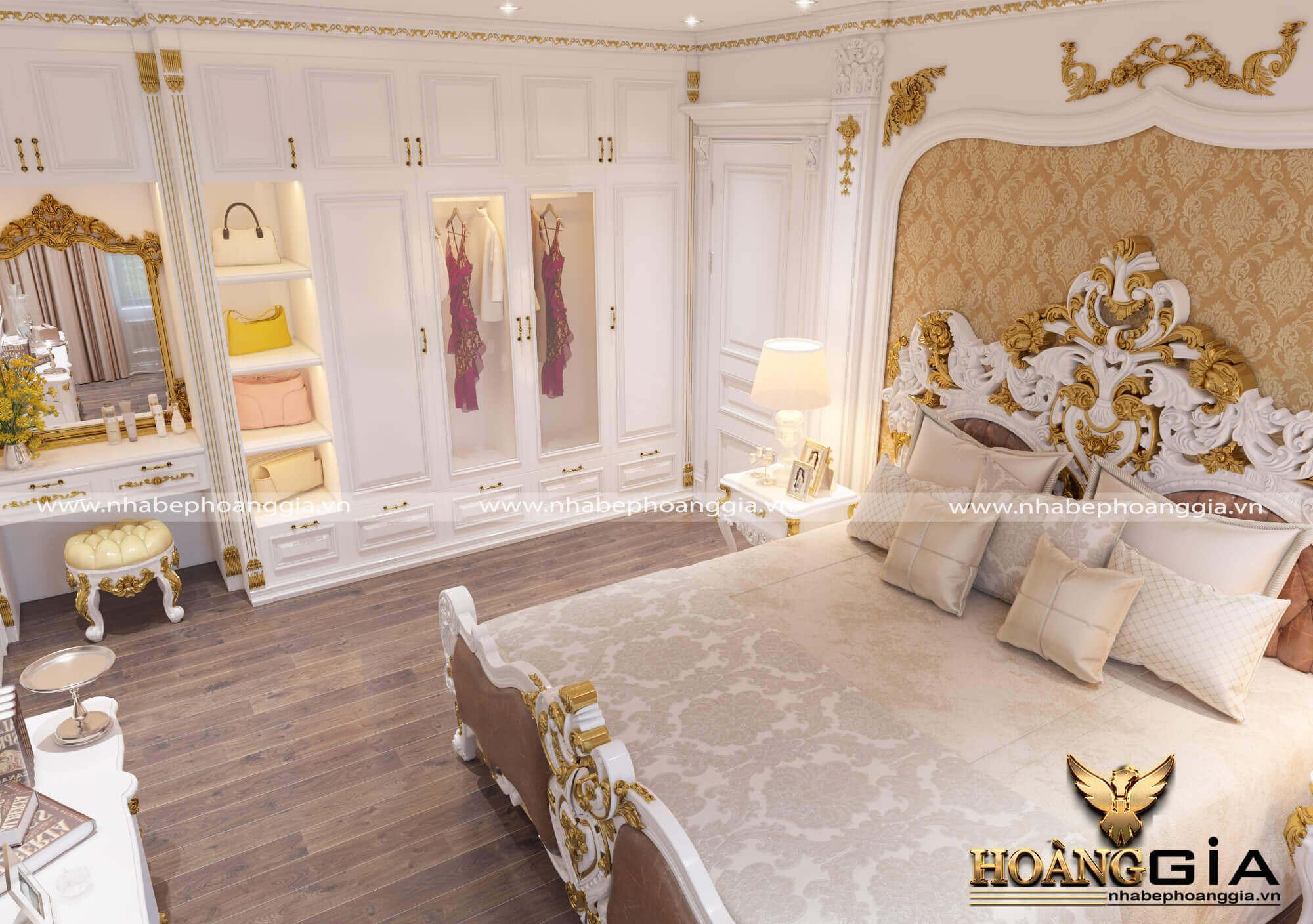 thiết kế nội thất tân cổ điển nhẹ nhàng