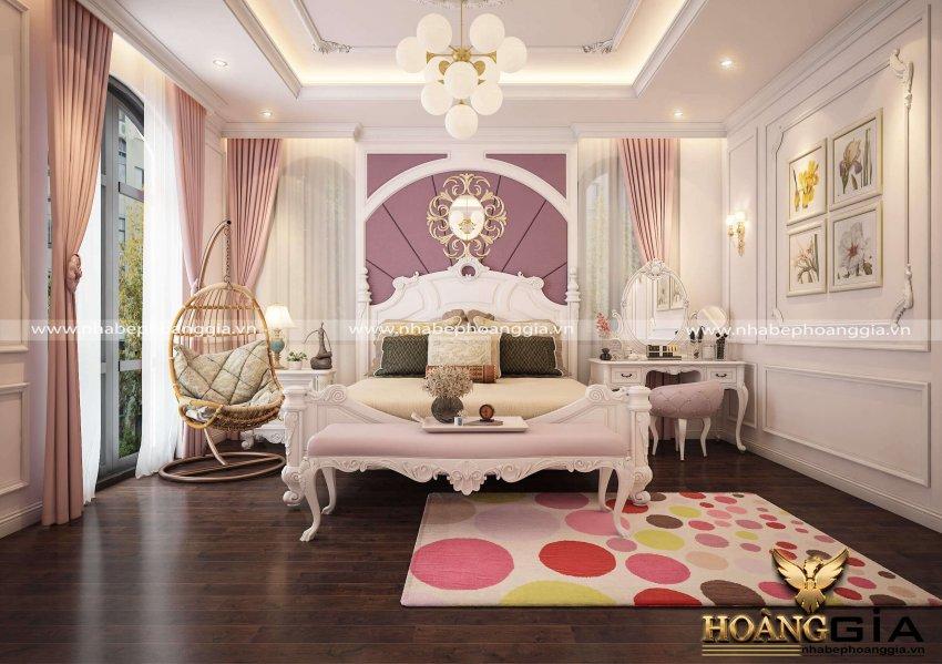 trang trí phòng ngủ đẹp cho con gái