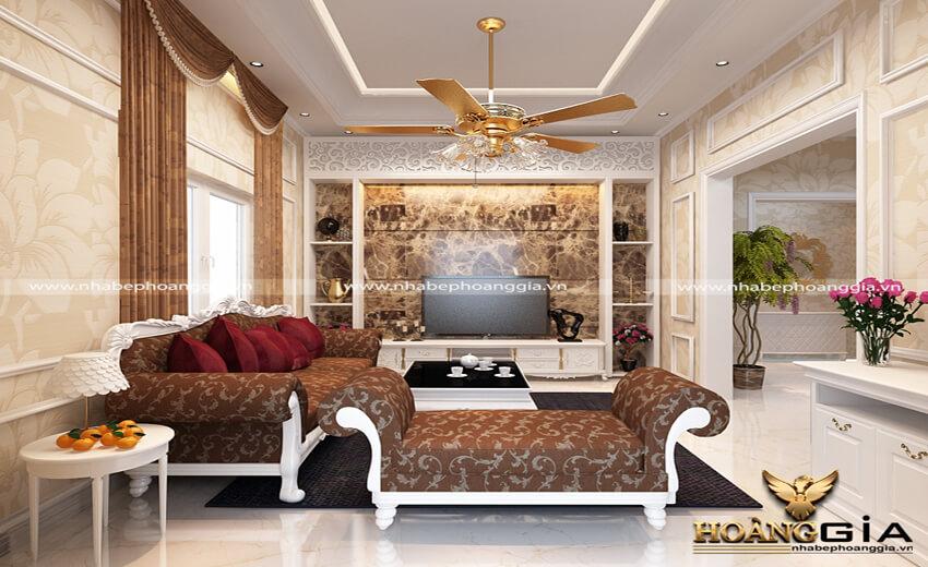 Có nên lắp quạt trần trong phòng khách