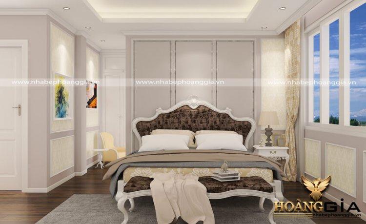 mẫu phòng ngủ tân cổ điển đơn giản