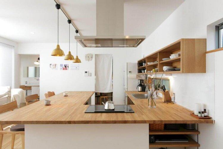 Mẫu nội thất bếp phong cách Bắc Âu