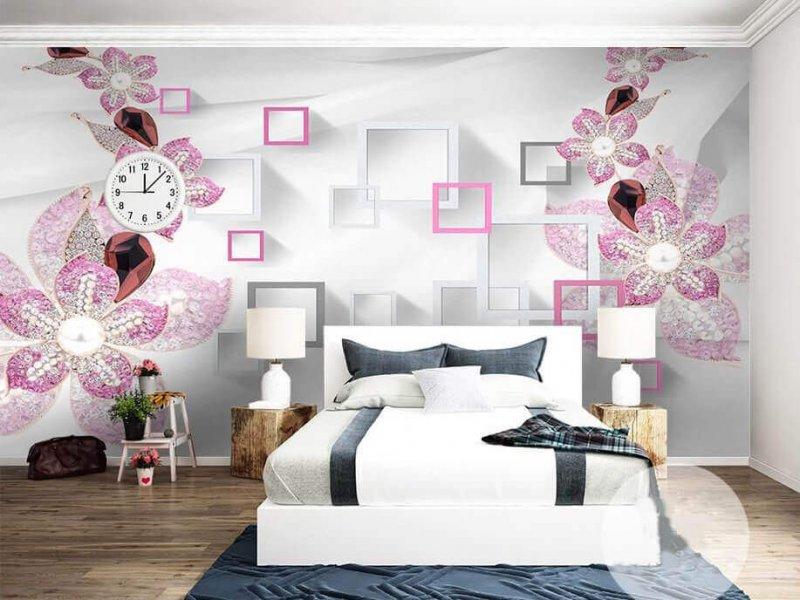 chọn giấy dán tường phòng ngủ