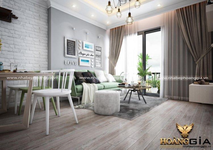 Thiết kế nội thất nhà chung cư 100m2