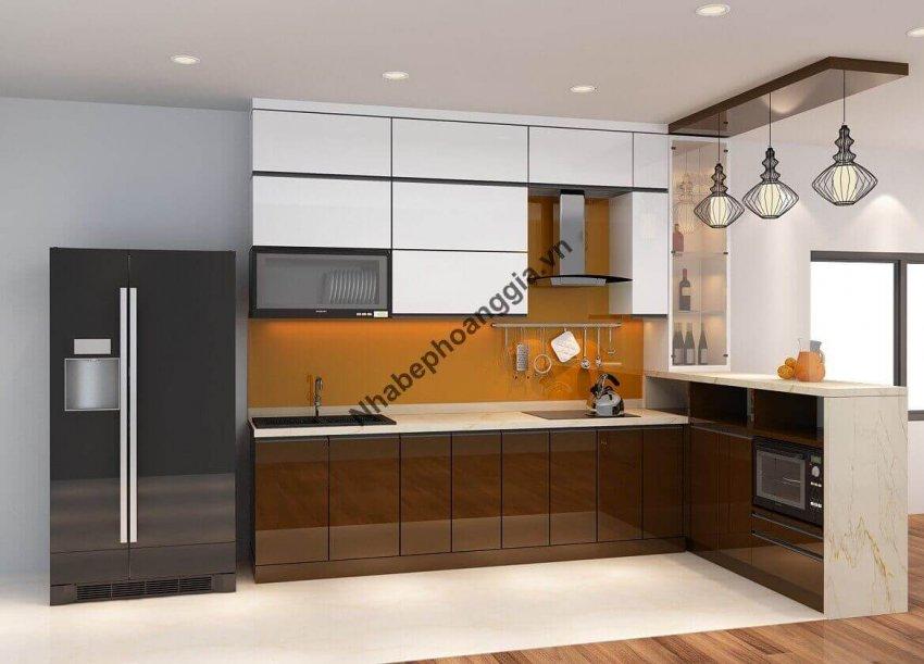 yếu tố tạo nên gian bếp hiện đại
