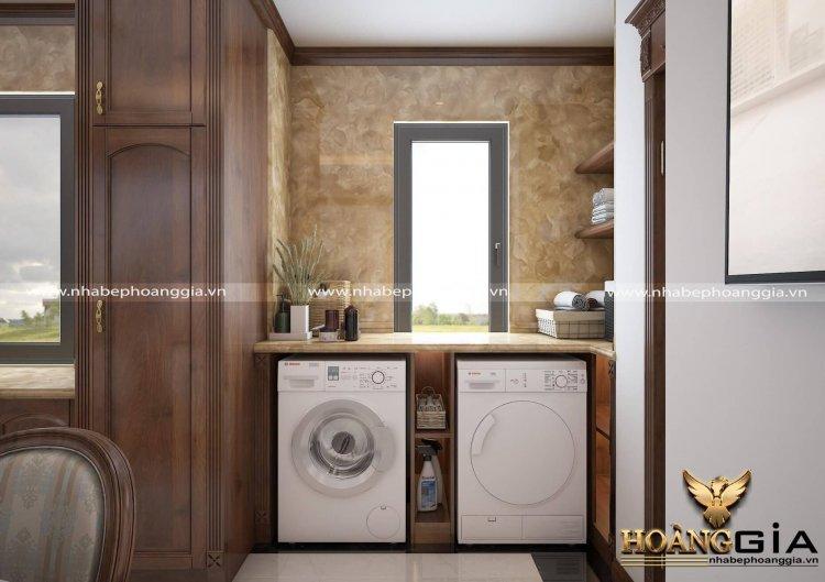 thiết kế và thi công nội thất phòng bếp gỗ tự nhiên