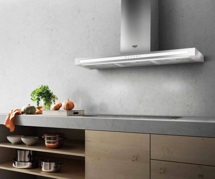Kích thước máy hút mùi nhà bếp