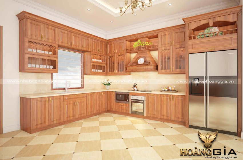 Lý do bạn nên đóng tủ bếp gõ gõ đỏ Nam Phi