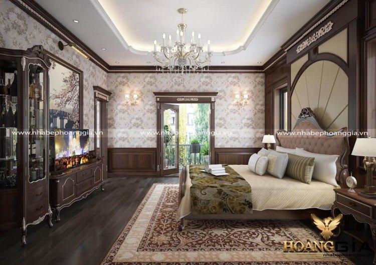 mẫu phòng ngủ phong cách tân cổ điển