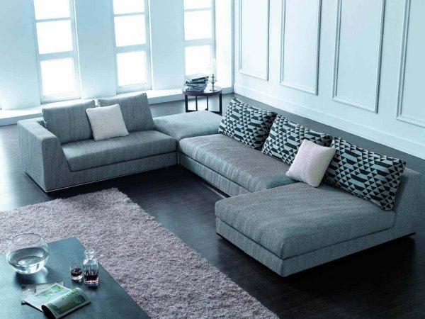 mẫu sofa chữ U
