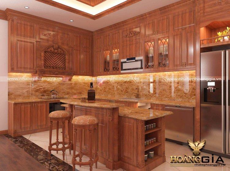 Thiết kế thi công nội thất gỗ gõ đỏ