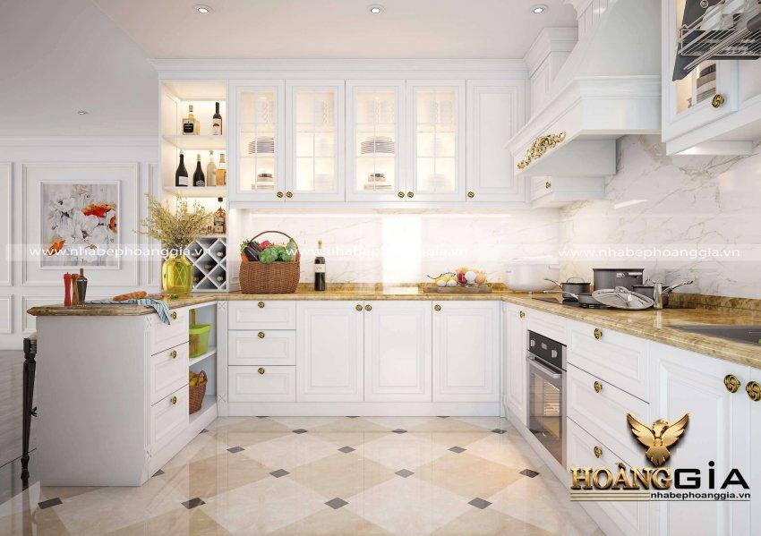 tủ bếp đẹp cho biệt thự