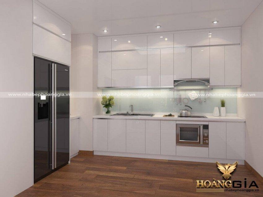 Báo giá tủ bếp acrylic 2021