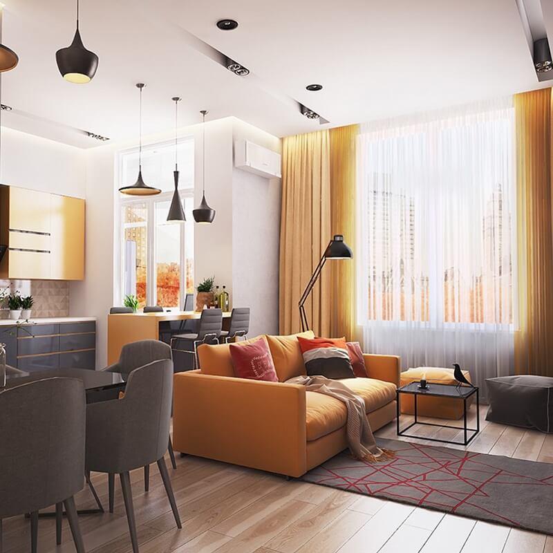 ý nghĩa màu sắc trong thiết kế nội thất