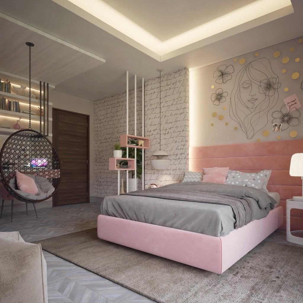 màu sắc phòng ngủ trong thiết kế nội thất tại quảng ngãi
