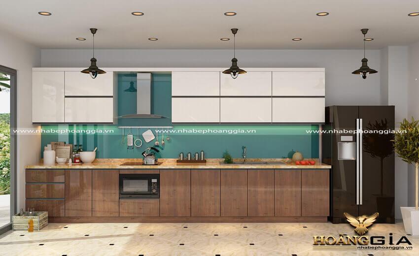 Thiết kế thi công tủ bếp tại Điện Biên