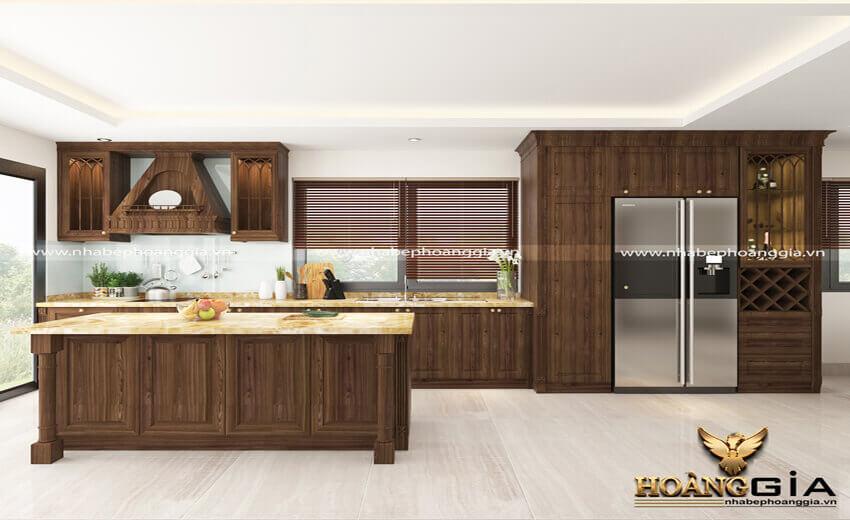 Thiết kế thi công tủ bếp tại Sơn La