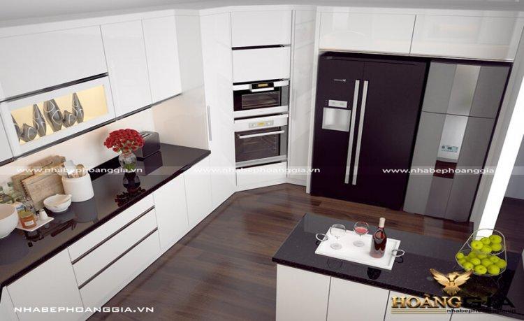 Vì sao bạn nên chọn tủ bếp gỗ acrylic cao cấp
