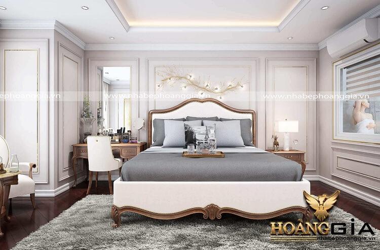 thiết kế phòng ngủ tân cổ điển đẹp