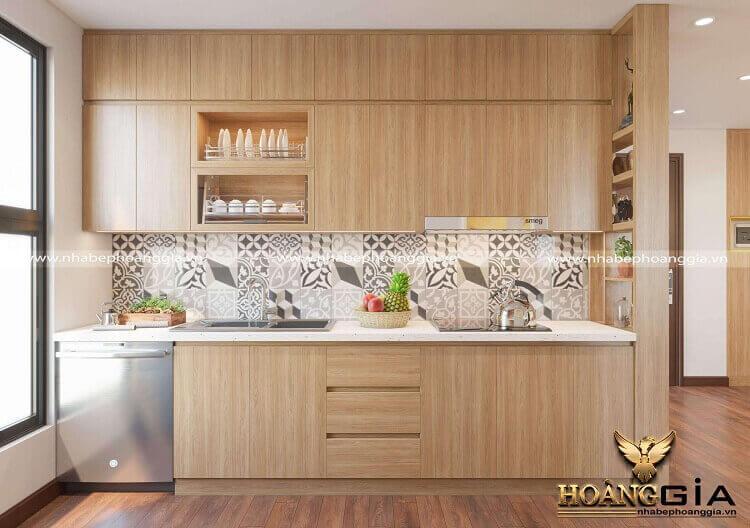 thiết kế thi công tủ bếp tại Thái Nguyên