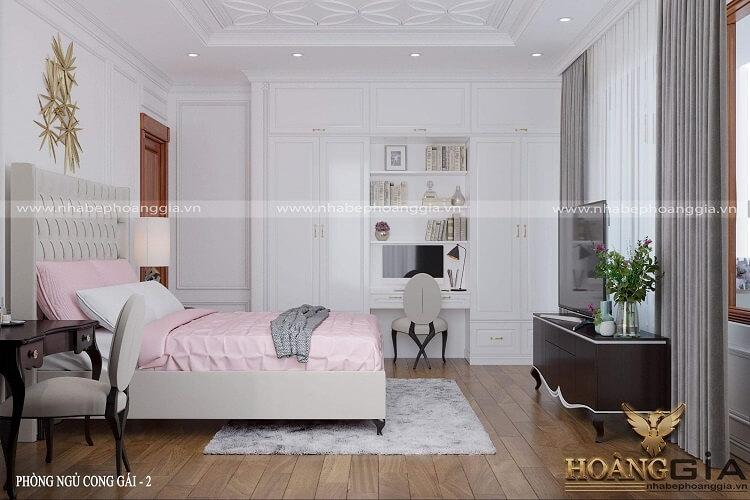 Thiết kế nội thất biệt thự tân cổ điển cao cấp