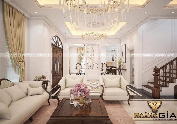thiết kế phòng khách tân cổ điển Christopher Guy