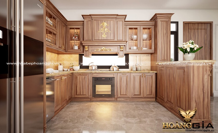 thiết kế thi công tủ bếp tại Hải Phòng
