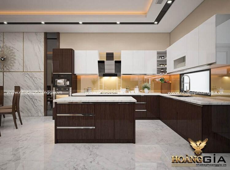 thiết kế thi công tủ bếp tại Lạng Sơn